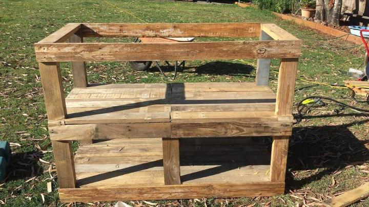 Amazing Pallet Outdoor Fish Filleting Station Easy Pallet Ideas Uwap Interior Chair Design Uwaporg