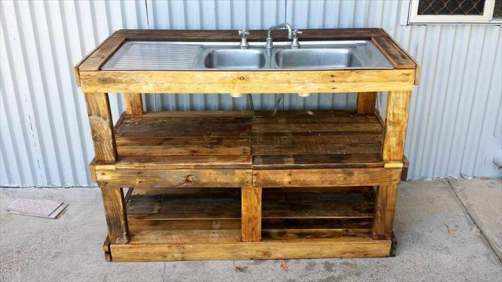Groovy Pallet Outdoor Fish Filleting Station Easy Pallet Ideas Uwap Interior Chair Design Uwaporg