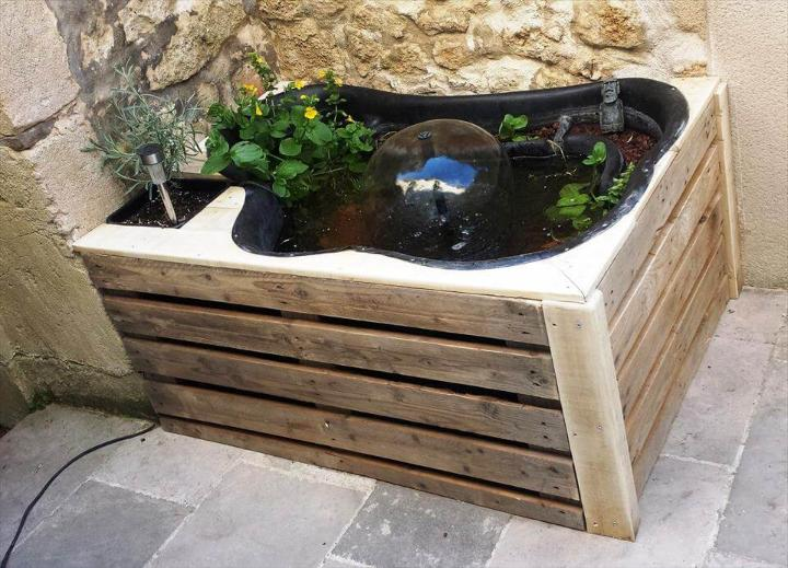 simple pallet planter box