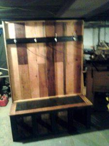 Pallet Coffee Table/ Hall Tree/ Laundry Basket Holder
