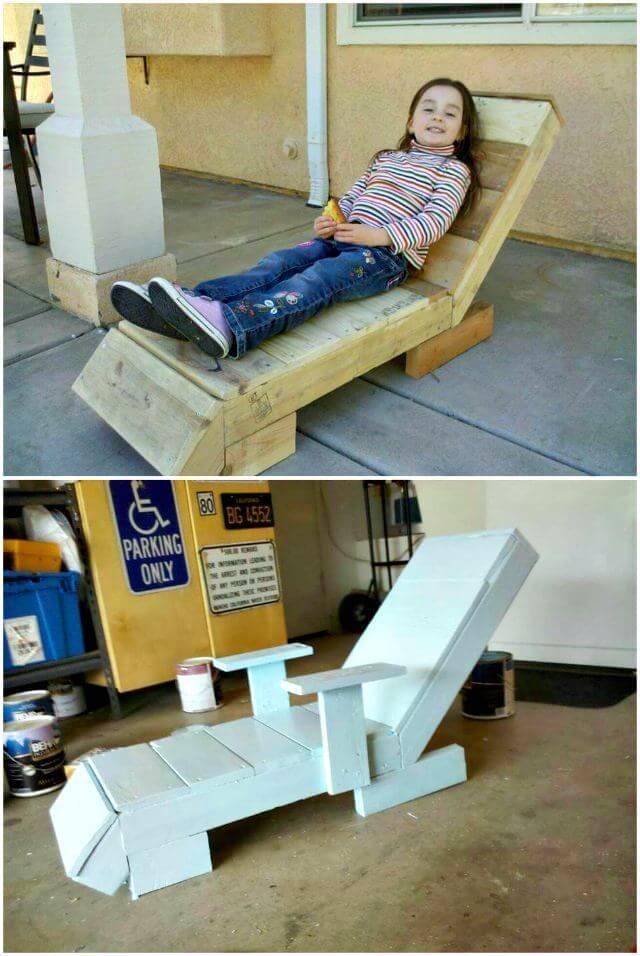 Pallet Lounger For Kids