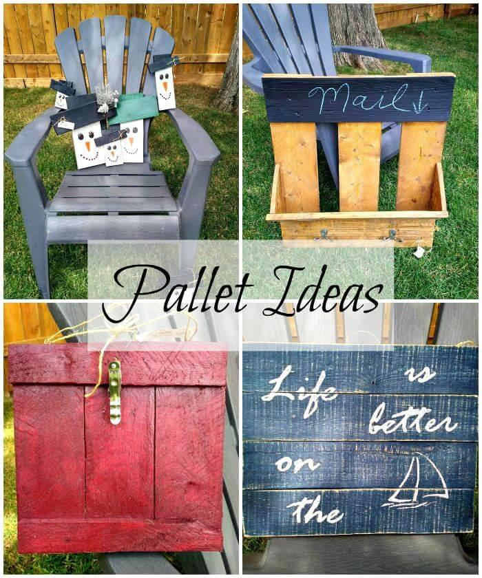 Pallet ideas, pallet furniture, pallet projects, wooden pallet ideas, diy pallet furniture projects, easy pallet ideas