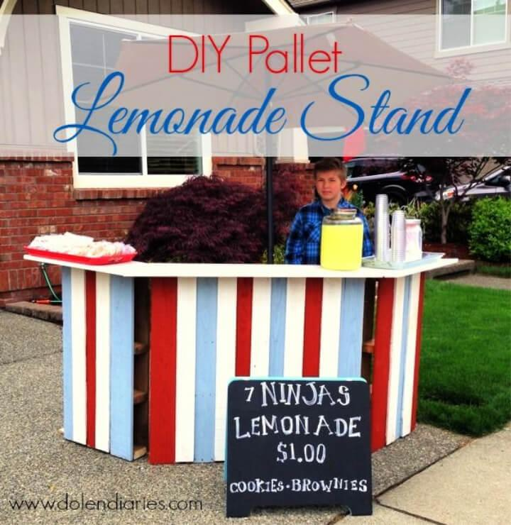 Build Pallet Lemonade Stand