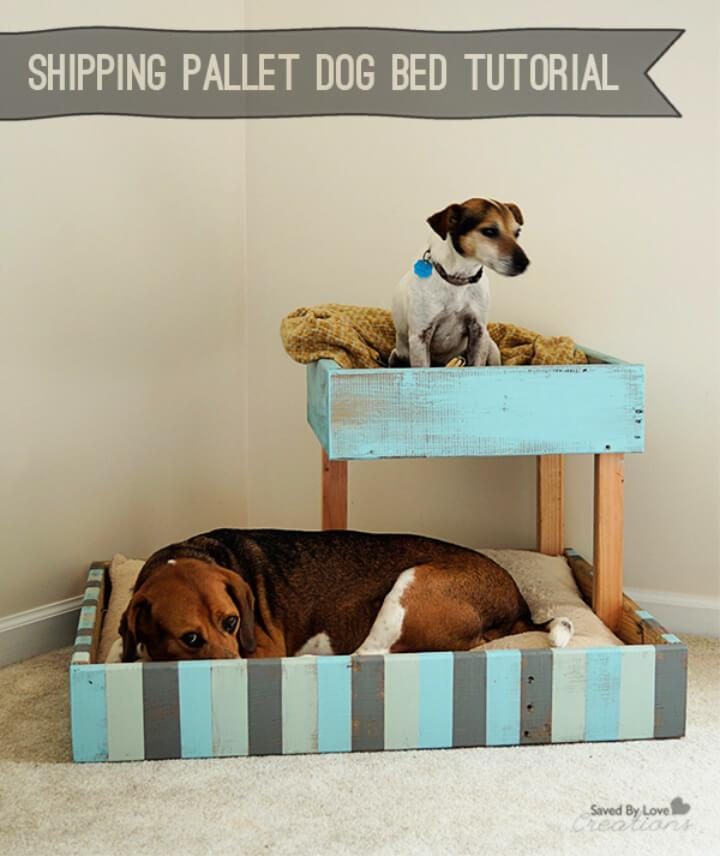 Build Shipping Pallet Dog Bed