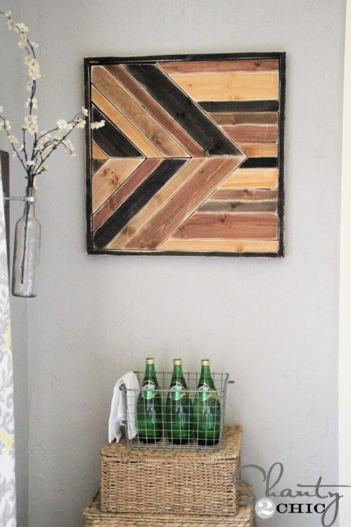 How to Make Pallet Wall Art