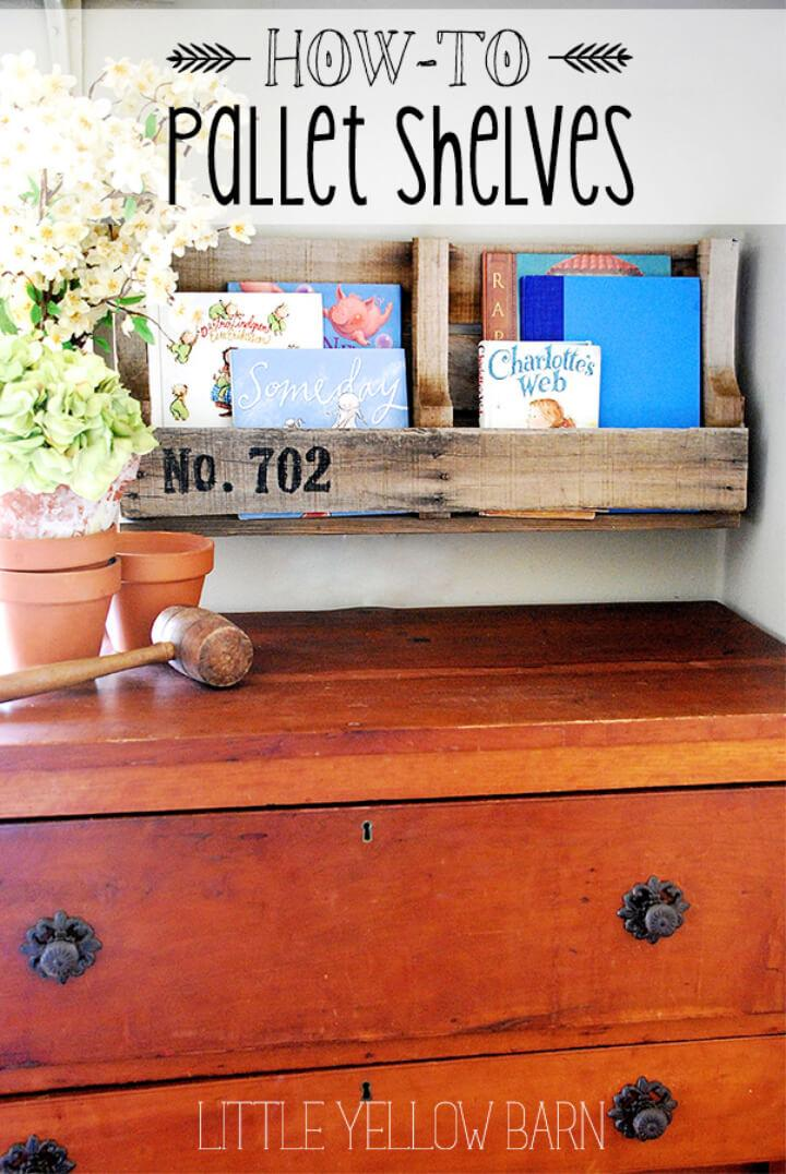 Pallet Shelves From Recycled Pallet