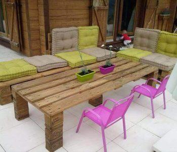 diy pallet outdoor sitting furniture