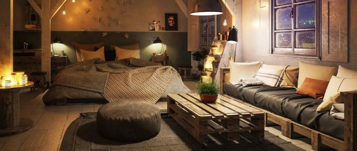 interior design ideas tips to complement your pallet furniture